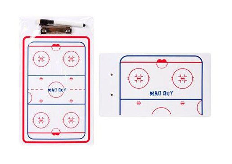 Хоккейная тактическая доска Mad Guy, 23x40 см