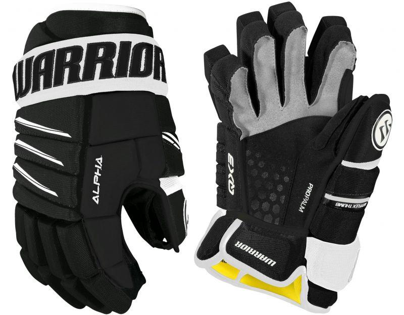 Хоккейные перчатки Warrior Alpha QX3 Jr