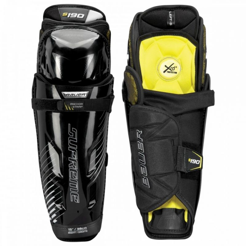 Хоккейные щитки Bauer Supreme S190 Jr