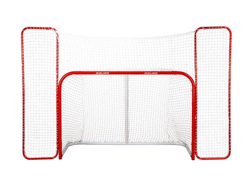 Хоккейный ворота с защитной сеткой Bauer Goal With Backstop
