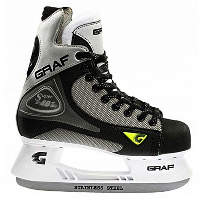 Коньки хоккейные Graf Super 101 Jr