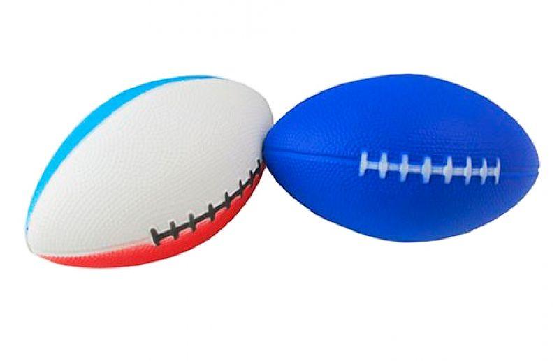 Мяч для регби PU, 15х10 см