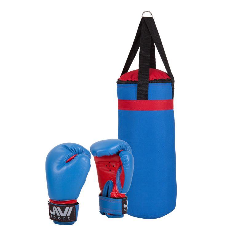 Набор боксерский детский Е036 (красно-синий)