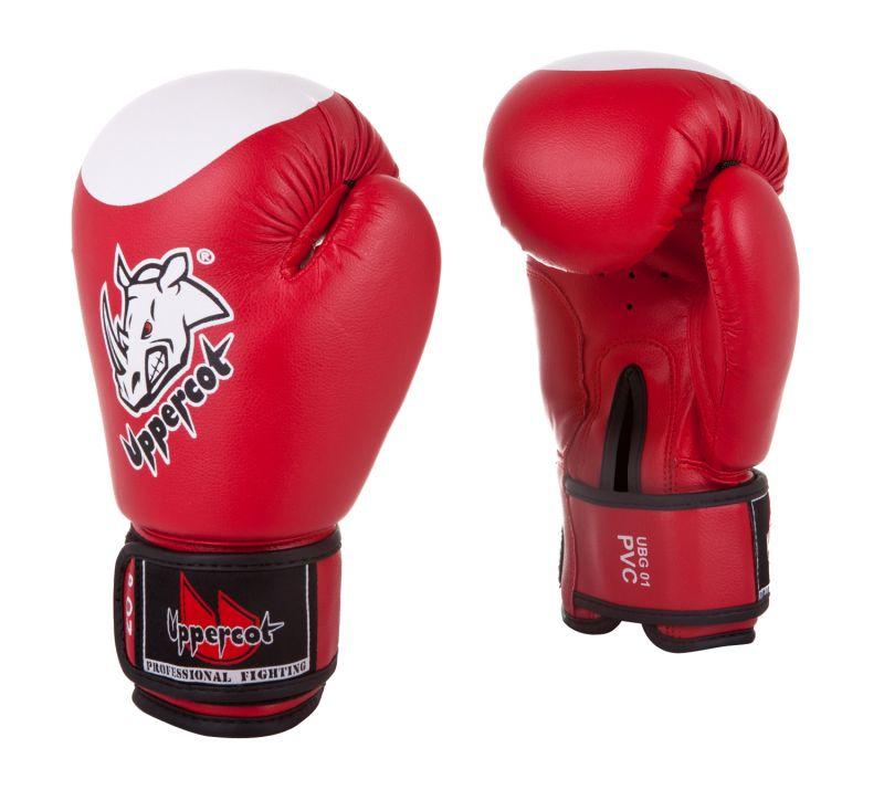 Перчатки боксерские UBG-01 Red 8oz