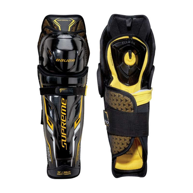 Щитки хоккейные Bauer Supreme TotalOne MX3 Yth