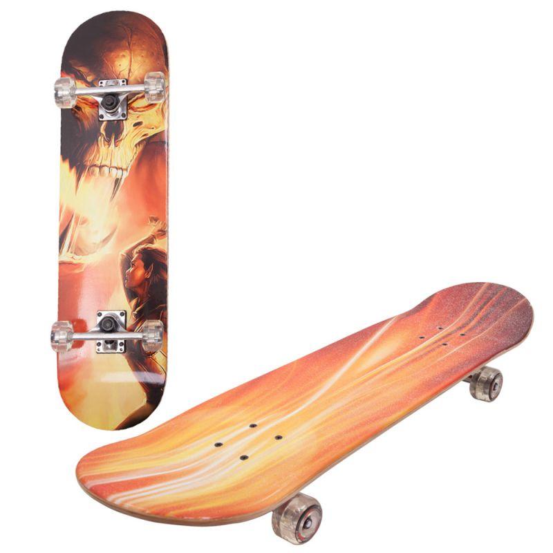 Скейтборд Alpha Caprice LG-DBL 45