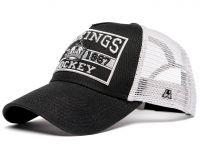 Бейсболка Atributika & Club LA Kings с сеточкой