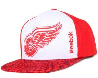 Бейсболка Reebok Snapback NHL Detroit Red Wings
