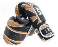 Перчатки боксерские PR-11-017, черные, 10 oz