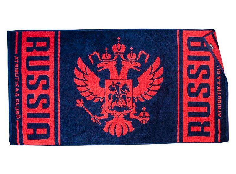 Махровое полотенце Russia Hockey