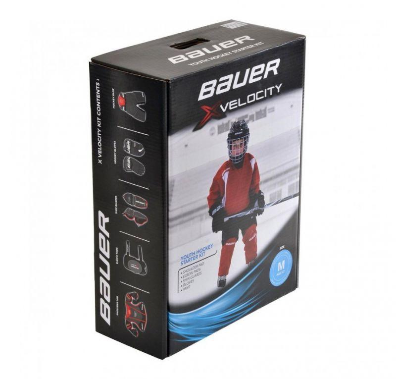 Детский комплект хоккейной экипировки Bauer Vapor Xvelocity (Yth)