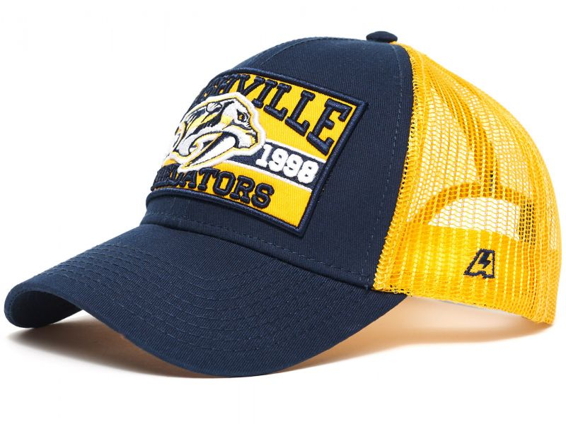 Бейсболка Atributika & Club Nashville Predators с сеточкой