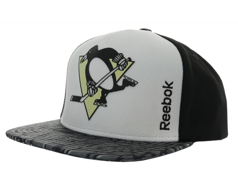 Бейсболка Reebok Snapback NHL Pittsburgh Penguins