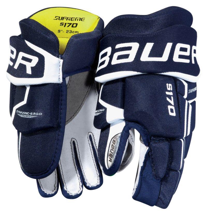 Детские хоккейные перчатки Bauer Supreme S170 S17 yth