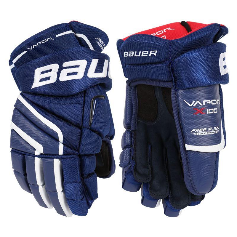 Хоккейные перчатки Bauer Vapor X100 Sr