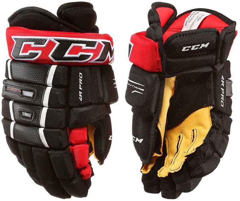 """Хоккейные перчатки CCM 4R Pro Jr 12"""""""