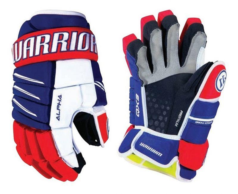 Хоккейные перчатки Warrior Alpha QX3 yth
