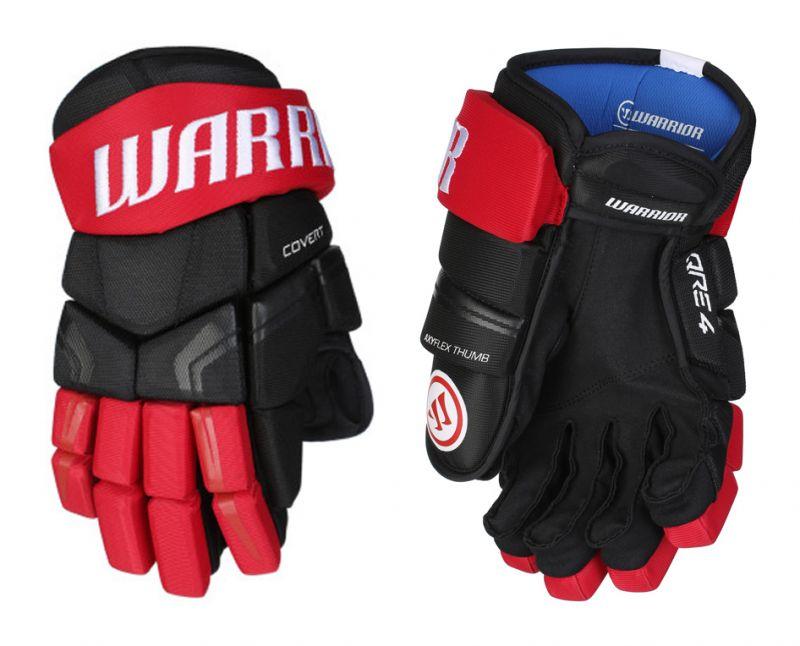 Перчатки хоккейные Warrior Covert QRE4 Yth