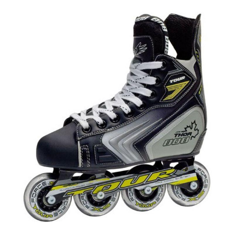 Хоккейные роликовые коньки Tour Thor 808 yth