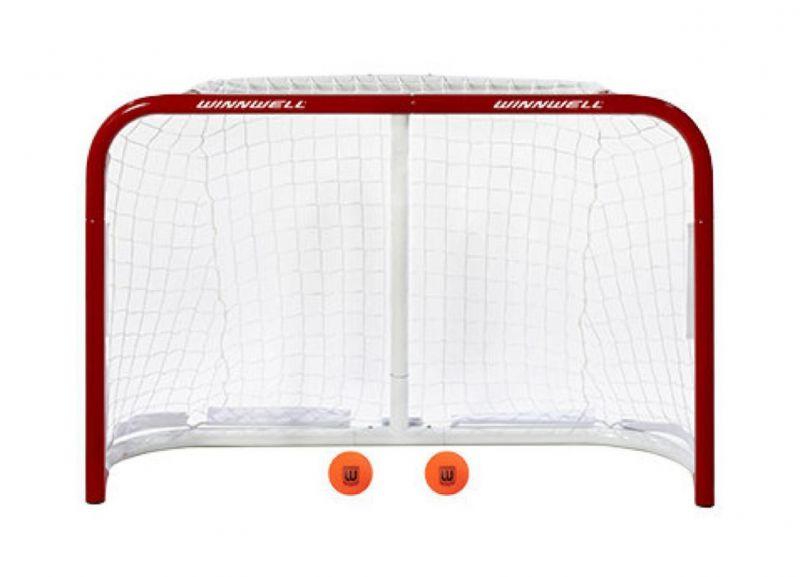 Хоккейные тренировочные ворота Winnwell + 2 мяча