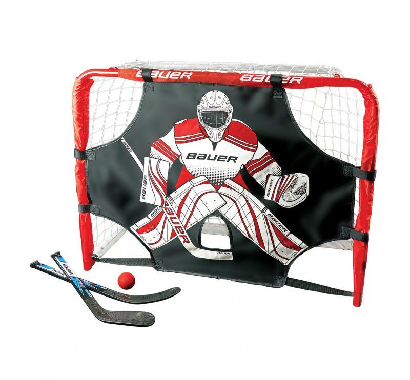 Хоккейные ворота Bauer Deluxe Knee Hockey Goal