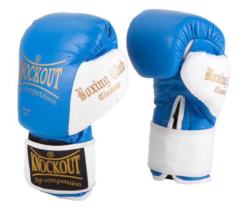 Перчатки боксерские Knockout NBG-250 12 OZ кож