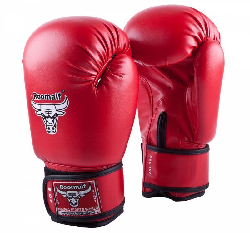 Перчатки боксерские Roomaif RBG-102 2 OZ