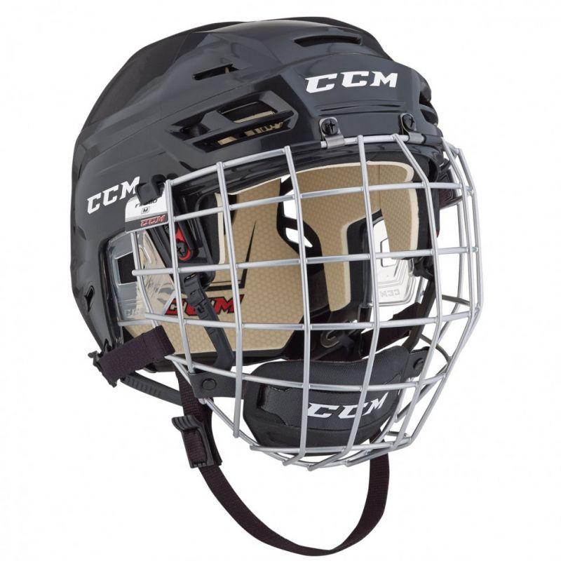 Шлем хоккейный ССМ Tacks 110 с решеткой
