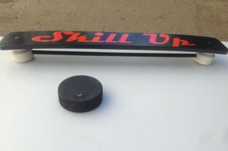 Хоккейный тренажер с пассером Skill Up