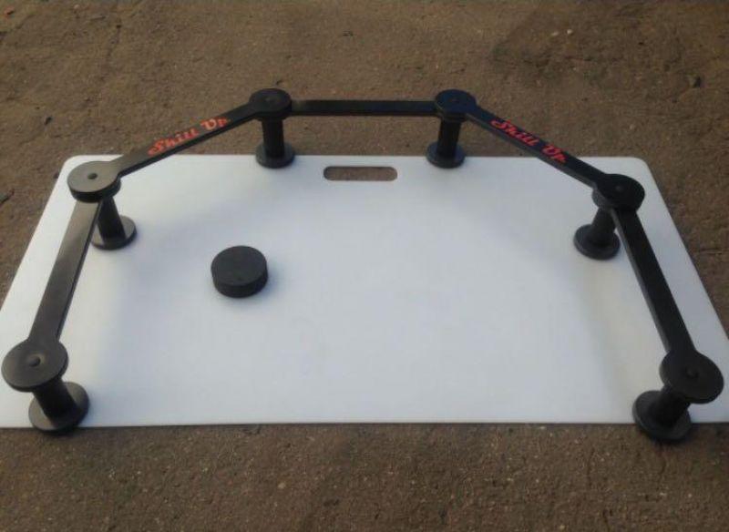 Хоккейный тренажер для дриблинга «Змейка 5-секционная» Skill Up