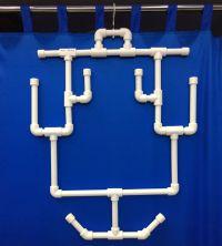 Вешалка для хоккейной формы навесная